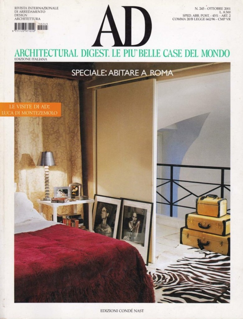 2001 AD Architectural digest. Le più belle case del mondo